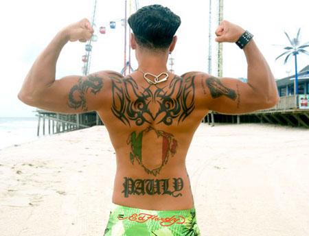 Pauly D - Paul DelVecchio , X Pauly D - Paul DelVecchio tattoo