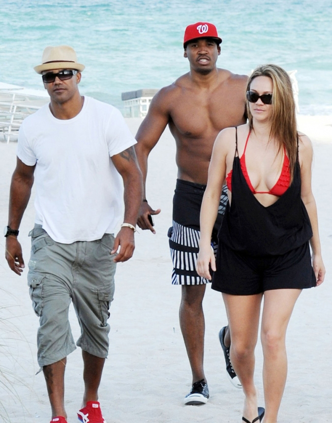 shemar moore and his wife bing images