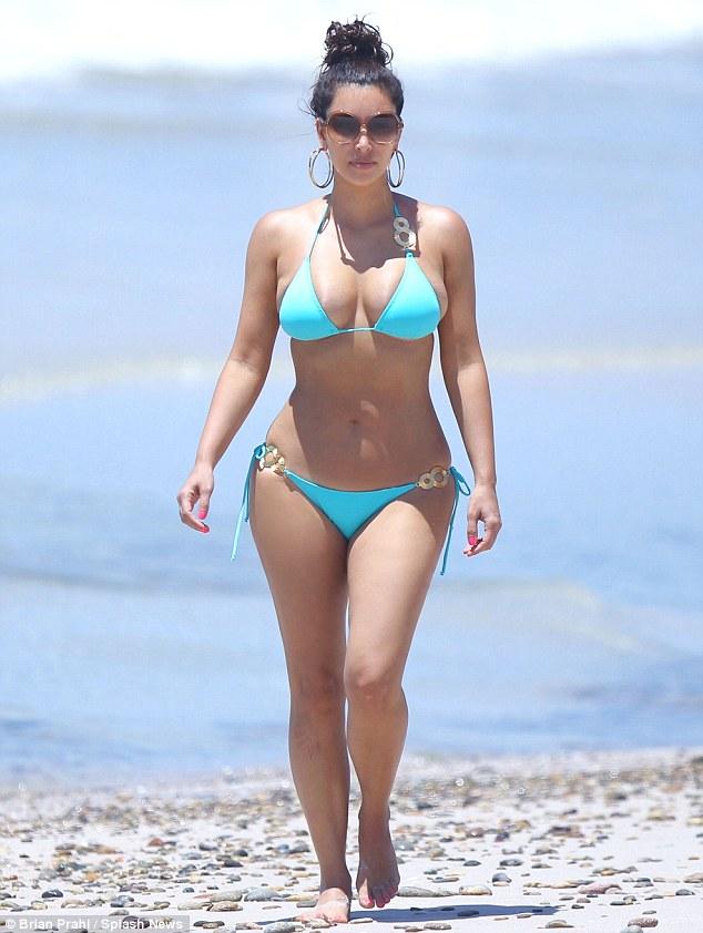 Bikini , Kim Kardashian , Kim Kardashian Bikini