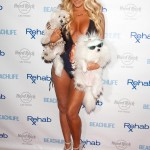 Aubrey O'Day Wearing a Swimsuit at The Hard Rock Hotel in Las Vegas - June 17, 2012  - 05