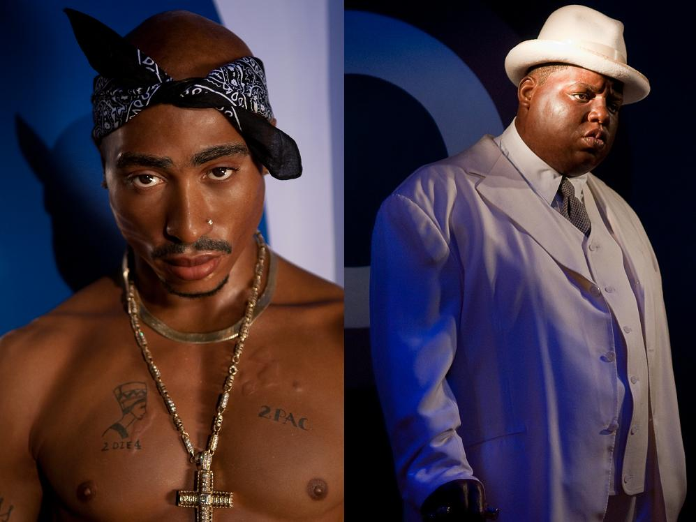 tupac vs biggie Episode 7 of unsolved starts out with a glimpse into the now unwavering bond between tupac and suge knight as well as biggie and puff.