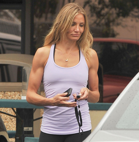 judging pic ease starting cameron diaz muscular