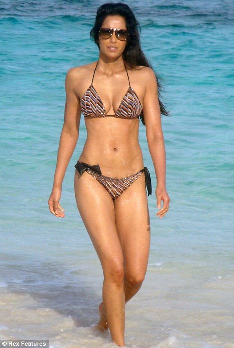 Padma Lakshimi Rockin A Itty-bitty Bikini. March 21, 2011 STAR PHOTOS