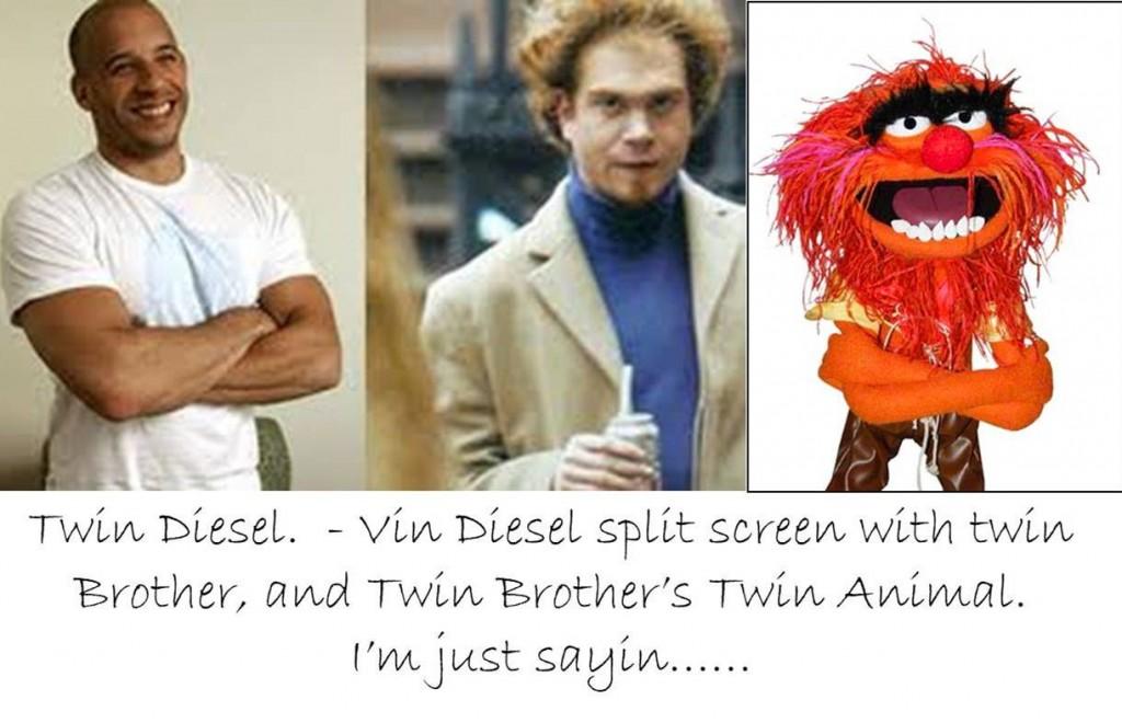 Vin Diesel Twin Brothe...