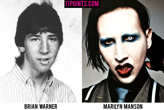 Pictures Of Marilyn Manson Without Make Up