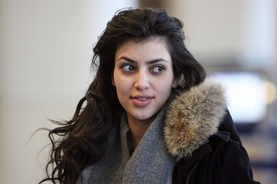 kim kardashian without makeup. Kim Kardashian Without Make Up