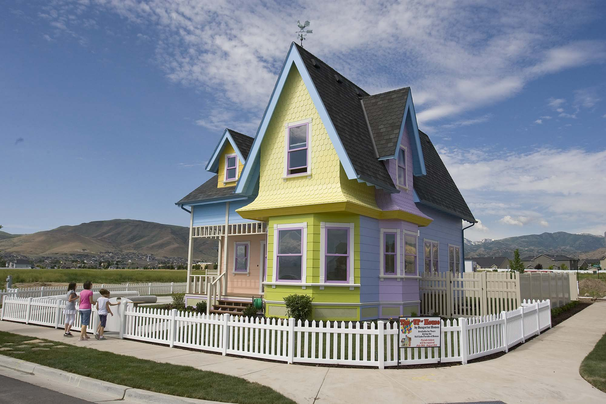 Real live house from the disney movie up sells for for Utah house