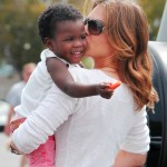 Jillian Michaels Haitian adopted Daughter - 01