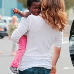 Jillian Michaels Haitian adopted Daughter - 04