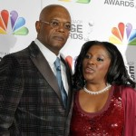 Actor Samuel L. Jackson and wife LaTanya Richardson arrive at the 43rd NAACP Image Awards  in Los Angeles