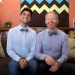 Jesse Tyler Ferguson and justin Mikita tietheknot.org video