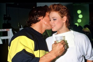 ARnold Schwarzenegger admitted an affair with Brigitte Nielsen during filming of Red Sonja