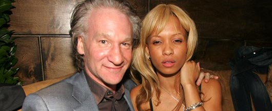 Bill Maher and Karrine Superhaed Steffans dated for awhile