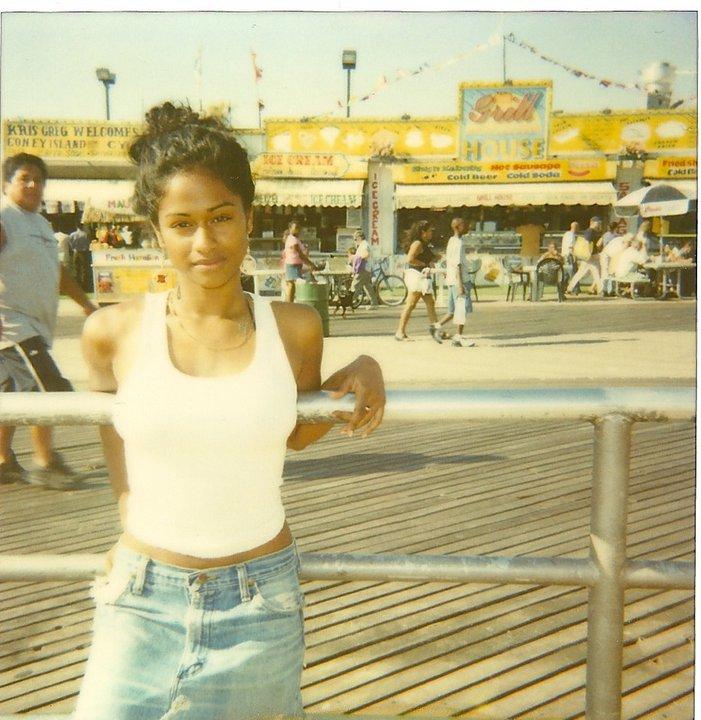 nicki minaj when she was young