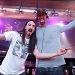 He was at XS for Dim Mak Monday where he got DJ tips from Steve Aoki.