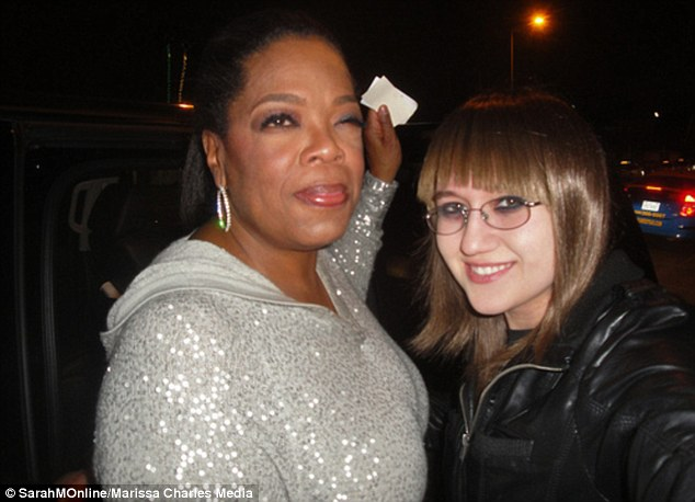 Angus T's Girlfriend Sarah M and Oprah Winfrey