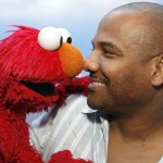 Kevin Clash and his puppet Elmo
