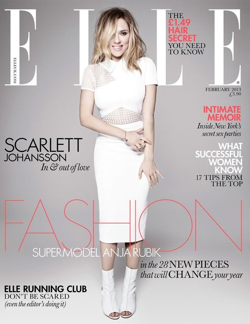 Scarlett Johansson Elle UK Cover