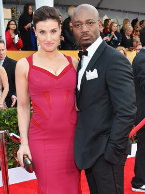 Taye Diggs and Wife at SAG awards