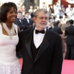 George Lucas and Fiance Mellody Hobson
