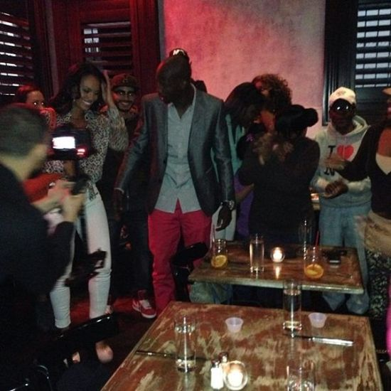 Evelyn Lozada and Chad Ochocinco Holding Hands2