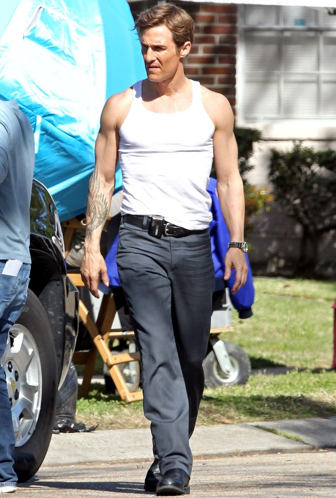 Mathew McConaughey buff Again