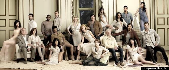 Cast photo of All My children