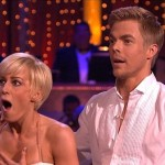 Kellie Pickler looking shocked as she was announced winner of Season 16 Dancing with the Stars