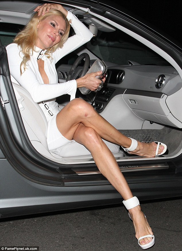 Brandi Glanville, Another Victim of Shoe-a-Cide!