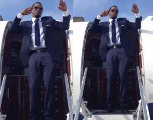 Diddy releases a video of him dancing in his private jet