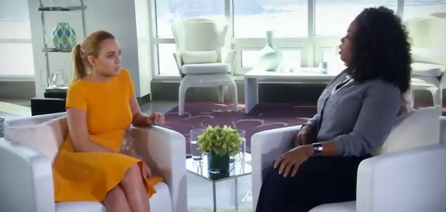 Lindsay Lohan's Much Anticipated Interview with Oprah