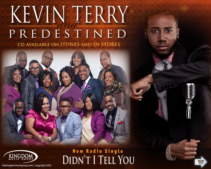 "Gospel Singer Kevin Terry Caught on Tape ""Rocking the Mic""."