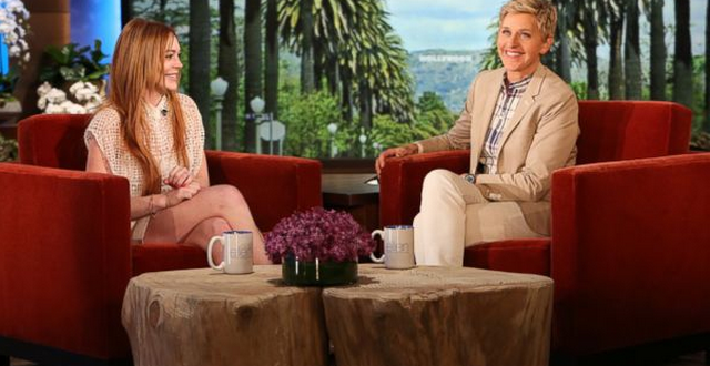 Lindsay Lohan Briefly Mentions Infamous Sex List On Ellen