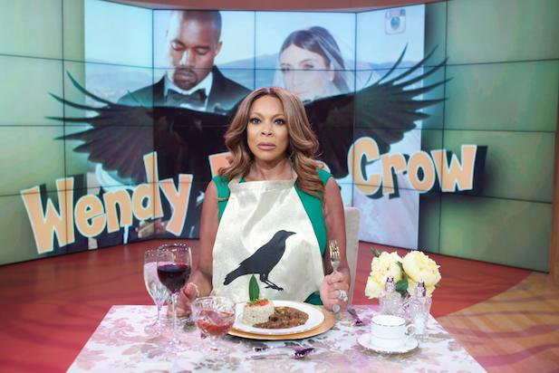 Wendy Williams Kicks off her Sixth Season Literally Eating Crow about Comments made about Kim and Kanye! (Video)