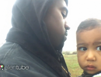 Watch: Kanye West Previews His Adorable 'Only One' Music Video Featuring North West