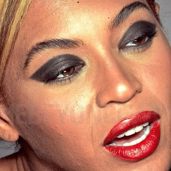 Beyonce unretouched photo L'Oreal 2013