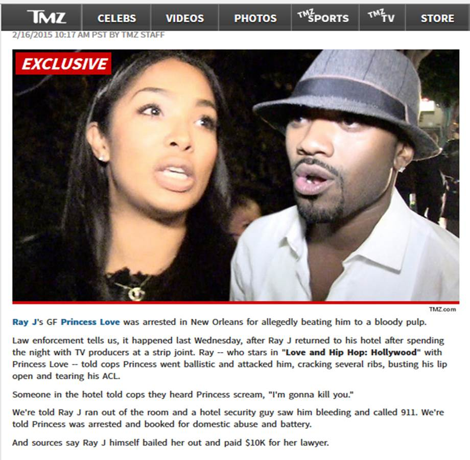 Ray j dating floyd experience