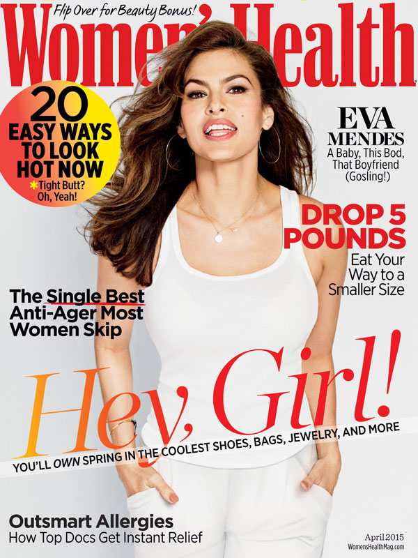11MAR2015 - Eva Mendes Womens Health