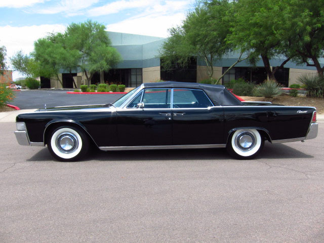 1965 restored lincoln continental