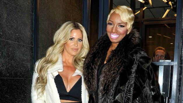 31MAR2015 - Celebs-Nene-Leakes-Kim-Zolciak-Reunite-for-New-Show