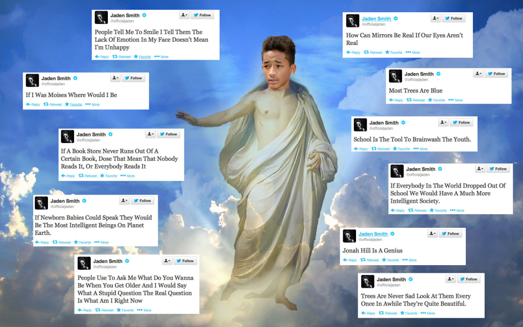 11APR2015 - Jaden Smith Quotes