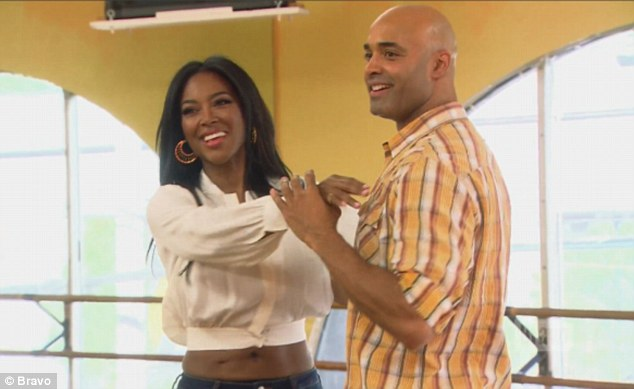 Kenya Moore and James Freeman on he Millionaie machmaker - 13MAY2015