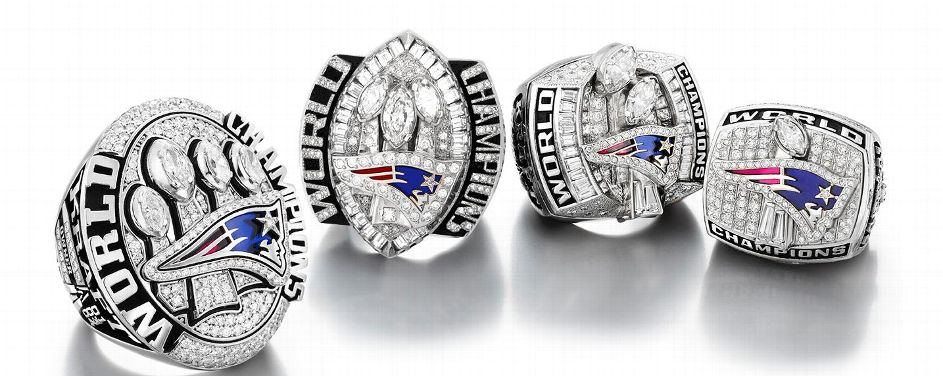 2015 New England Patriots Super Bowl Rings - 16JUN2015