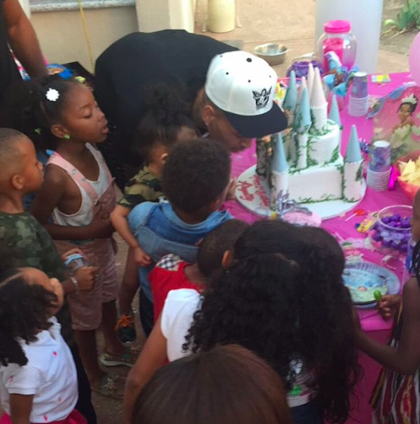 Chris Brown Royalty 1st Birthday Pics - 23JUN2015 - 02