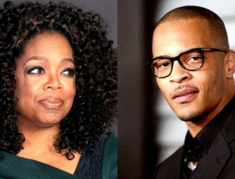 """O"" Really? TI Says A Woman Can't Run this Country.  Oprah Responds and Shuts Him DOWN! (VIDEO)"