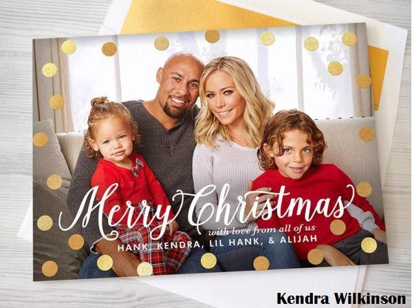 kendra-wilkinson-christmas-card-2015