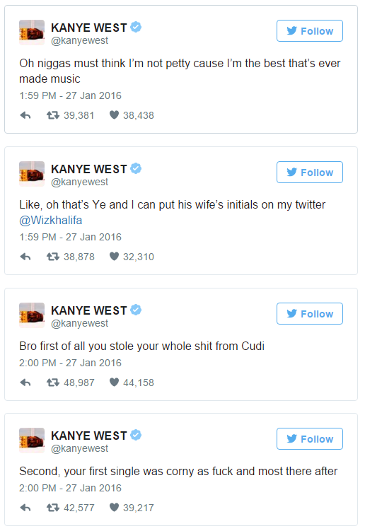 Kanye Vs Wiz - 28JAN2016