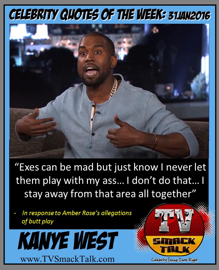 Kanye West 31JAN2016