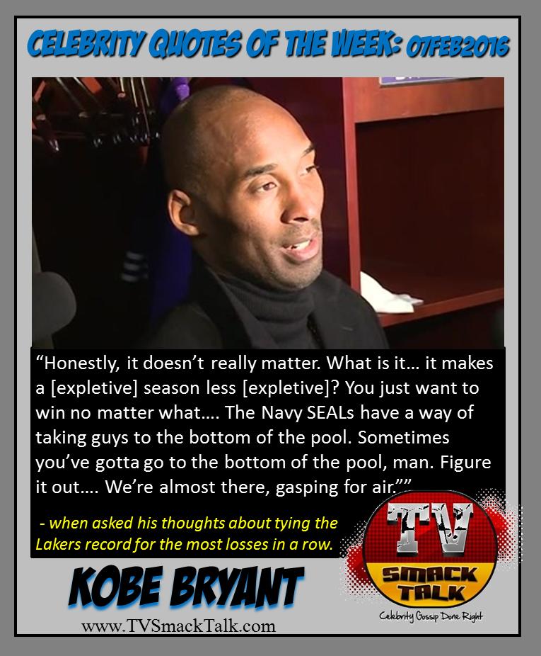 Kobe Bryant 07FEB2016