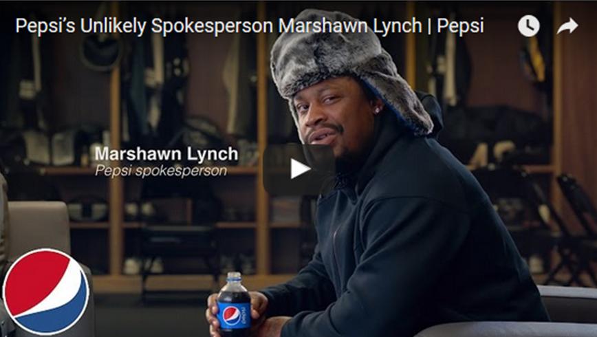 Marshawn Lynch Pepsi Commercial